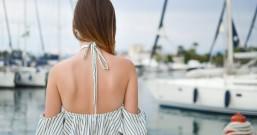 夏天想穿得性感背部却有粉刺,不想穿露背装露出大痘痘?短时间养成光滑美背